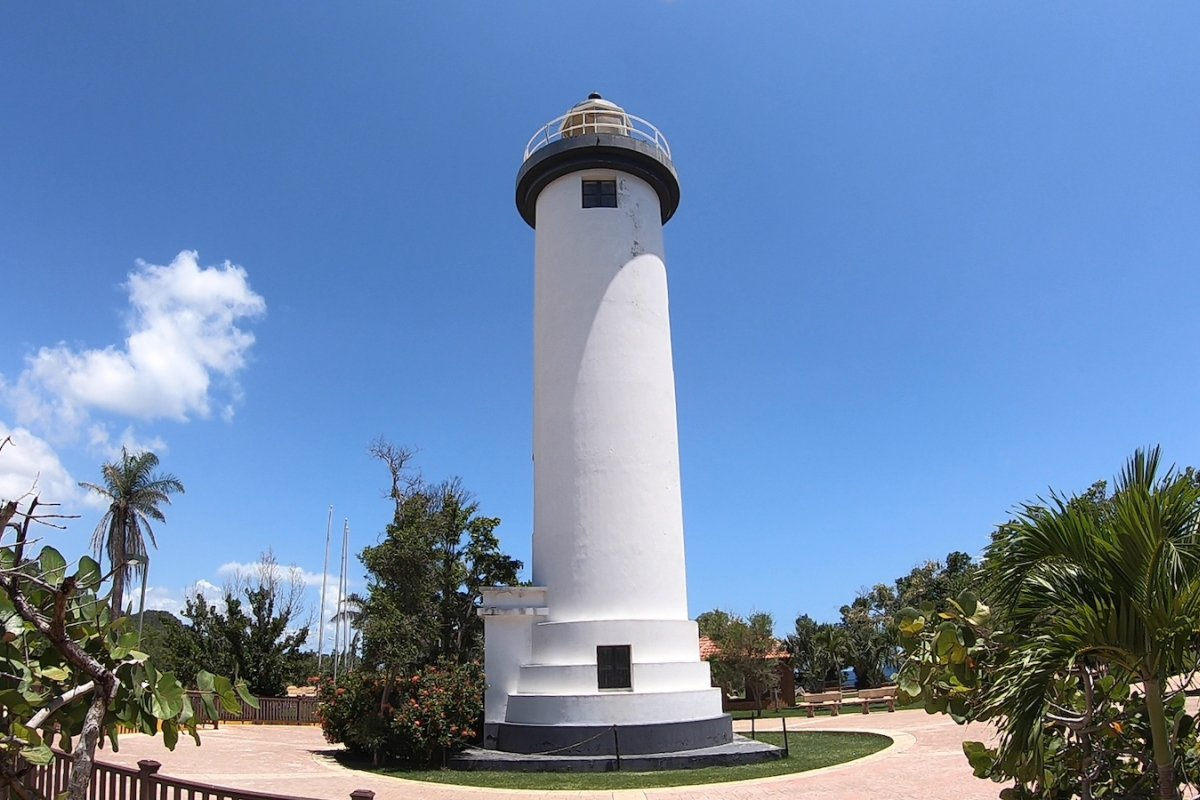 Punta Higuera Lighthouse in Rincon.
