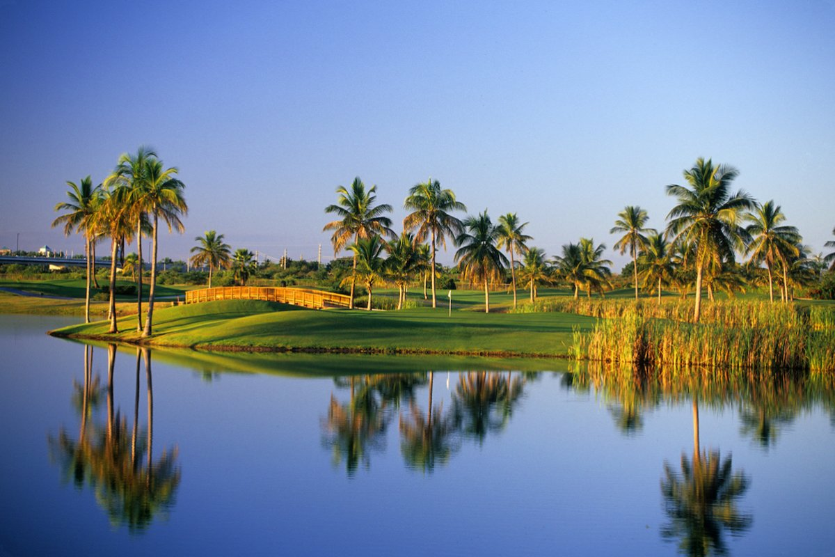 Golf course at Hilton Ponce Golf & Casino Resort