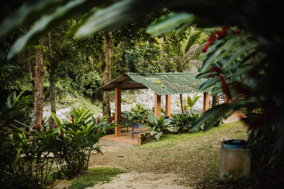 Hacienda Negrón is an epic place to stay in the middle of nature.