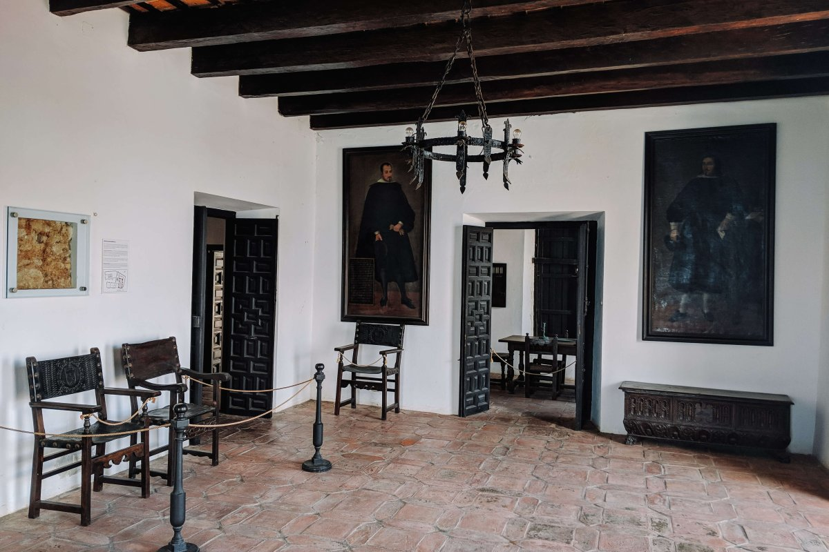 Museo Casa Blanca was once home to Ponce de León's family.