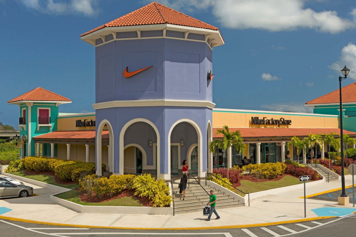 The Nike Factory Store at Puerto Rico's Prime Outlets.