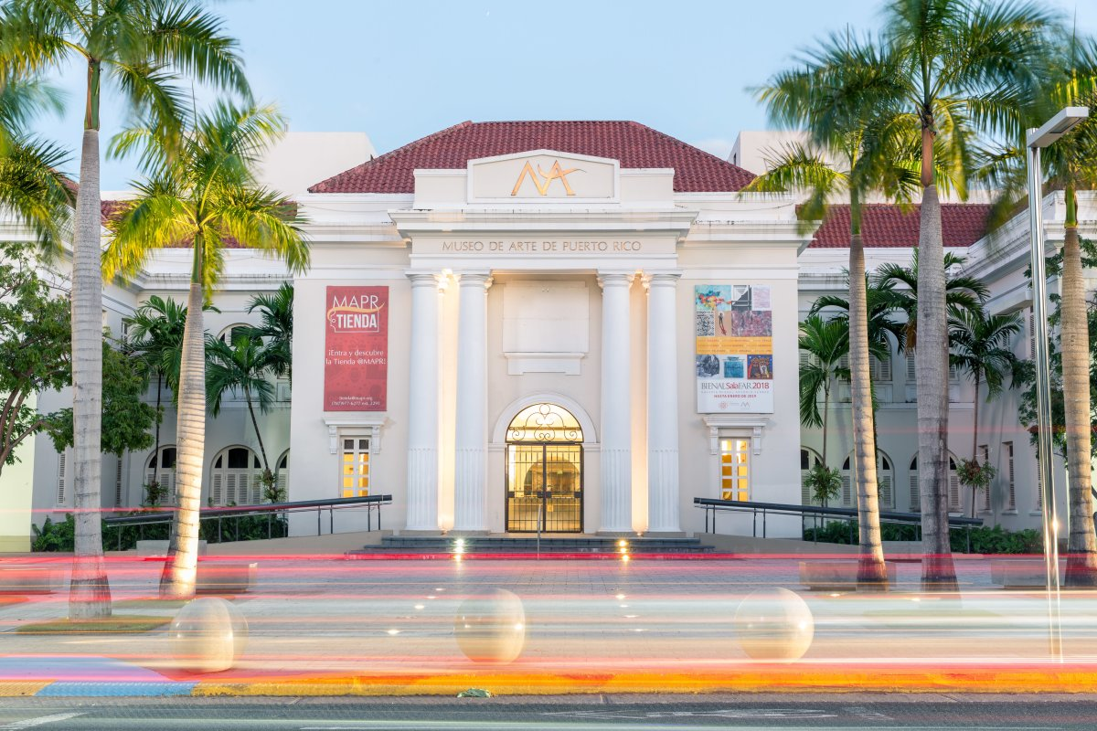 Exterior of the Museo de Arte de Puerto Rico.