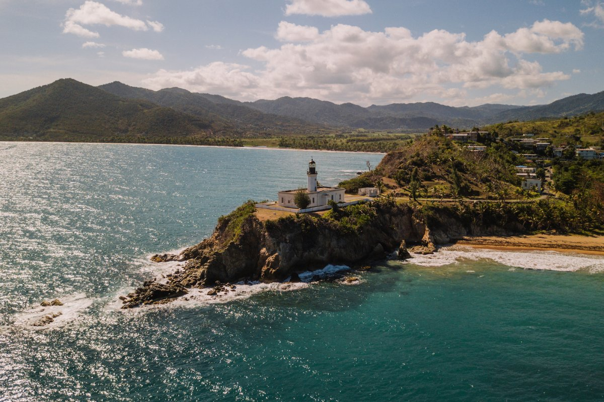 The Punta Tuna lighthouse in Maunabo