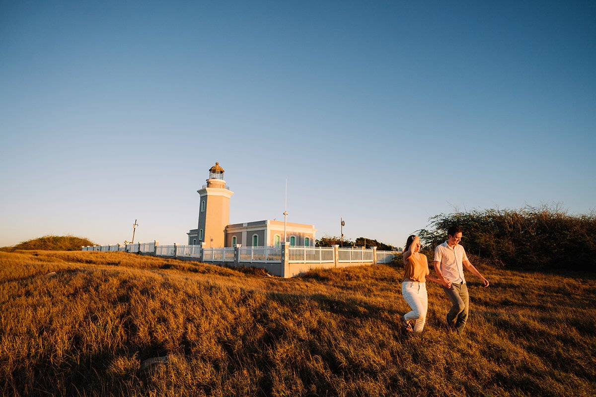 Los Morrillos Lighthouse in Cabo Rojo.