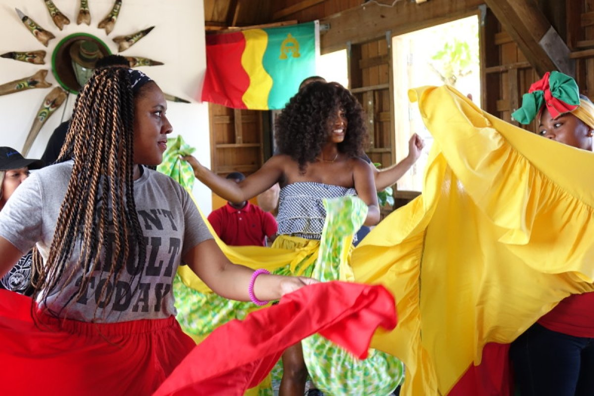 Bomba dancing in Loiza