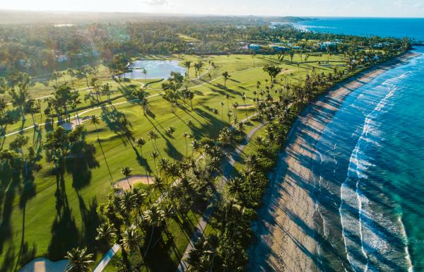 Gorgeous aerial view of the Dorado Beach Resort & Club.