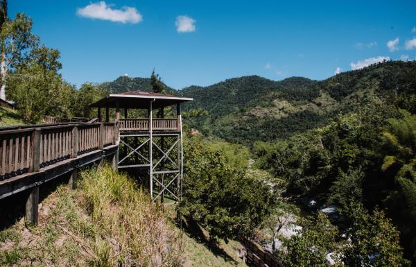 Viewpoint at Piedra Escrita in Jayuya