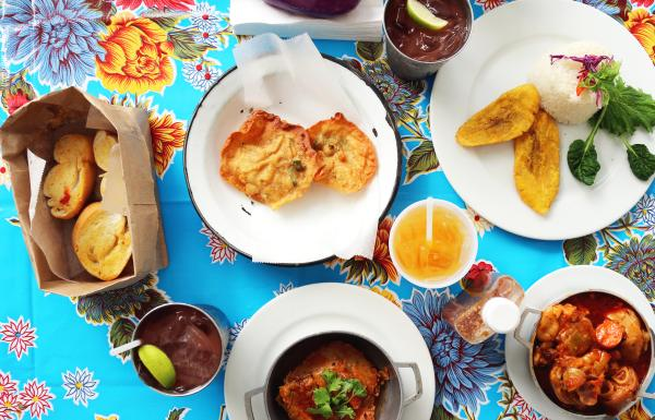 A colorful food tour is on the table with Spoon Food Tours in San Juan.