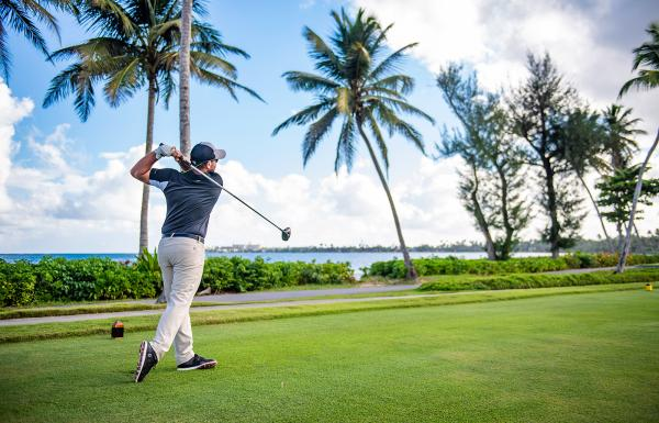 Golfing at Dorado beach resort