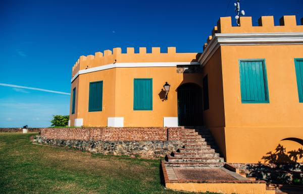 Outside view of Fortín Conde Mirasol in Vieques.
