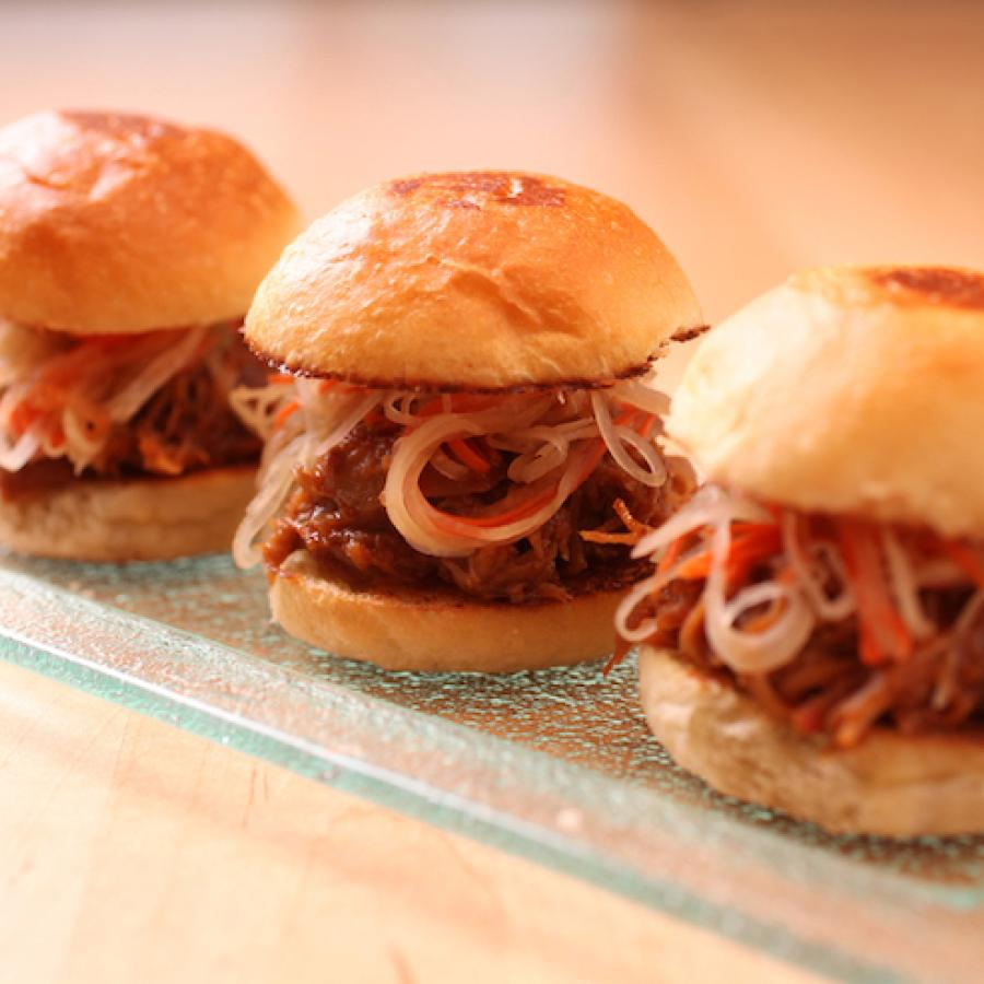 Expertly prepared sliders at the 1919 Restaurant.