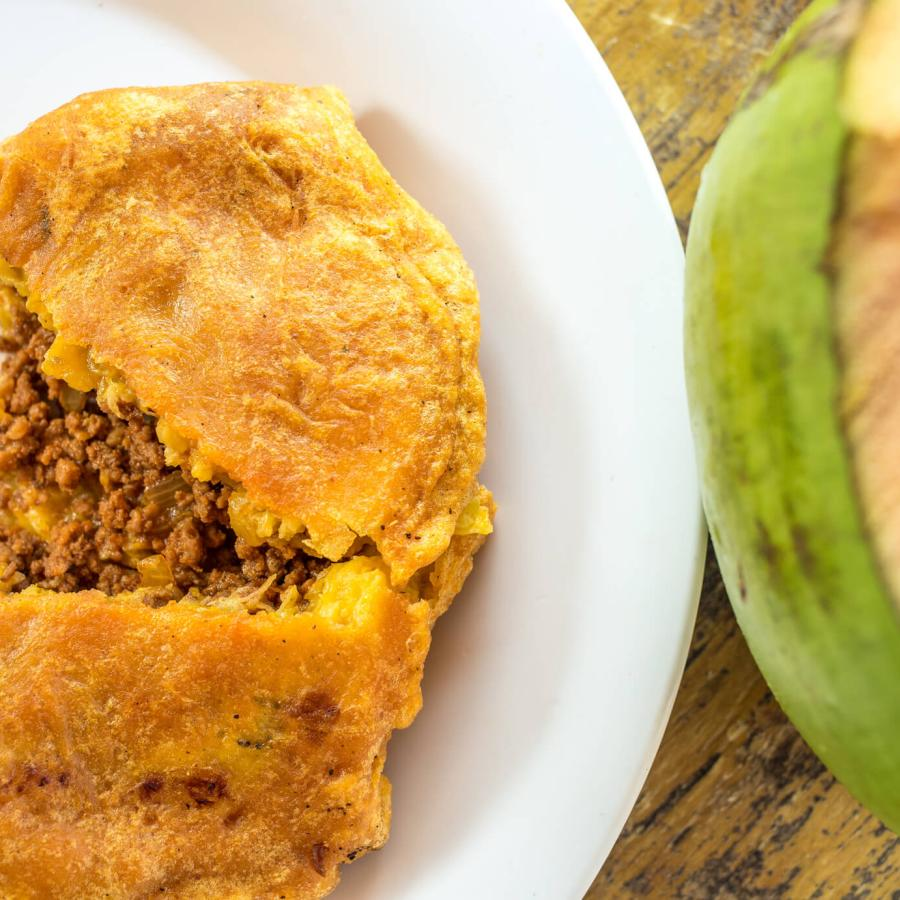 Piñones is a great place to grab delicious authentic Puerto Rican street food.