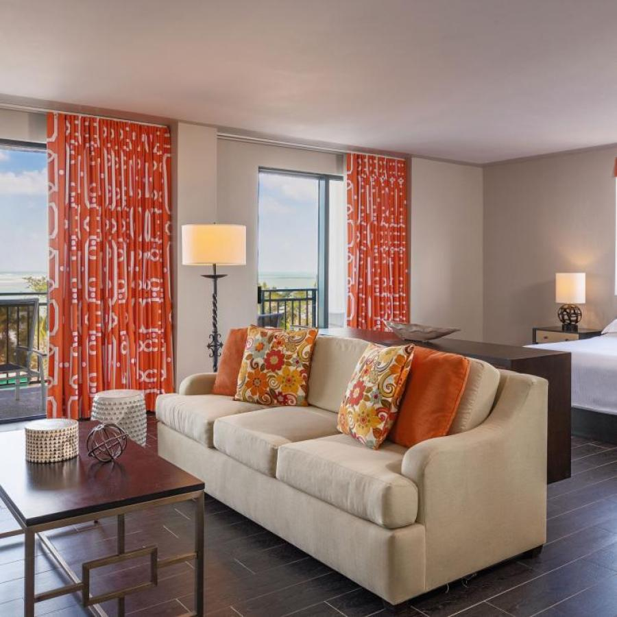 Family suite at the Wyndham Grand Rio Mar Golf and Beach Resort.