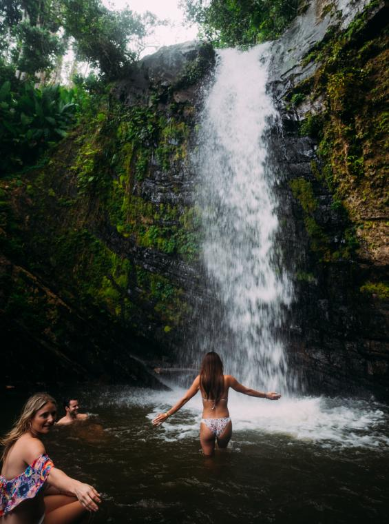 Waterfall at El Yunque