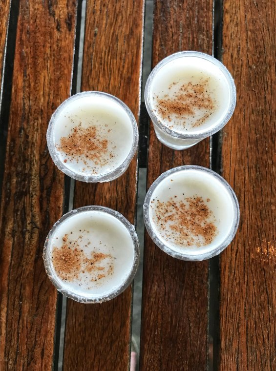 Coquito is a traditional drink around the holidays